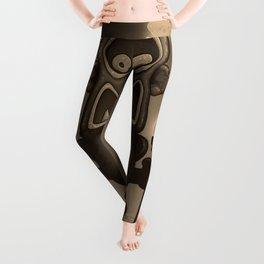 Tiki Munkee Leggings