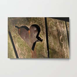 I Carved a Heart for You ~ Romance Series Metal Print
