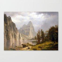 Albert Bierstadt Merced River, Yosemite Valley Canvas Print