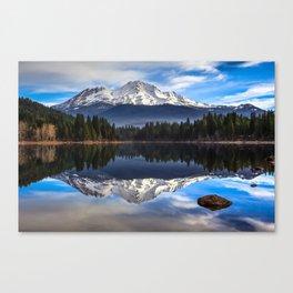 Mount Shasta Morning Reflection Canvas Print
