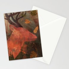 Monarch of Autumn Stationery Cards