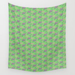 Fractal Pastel Wall Tapestry