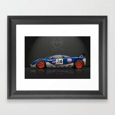 1995 Le Mans McLaren F1 GTR #02R Framed Art Print