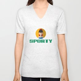 SPORTY SPICE Unisex V-Neck