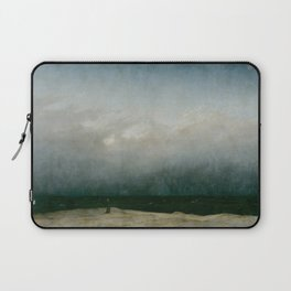 Caspar David Friedrich - The Monk by the Sea Laptop Sleeve
