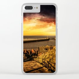 Tourists Rest Clear iPhone Case