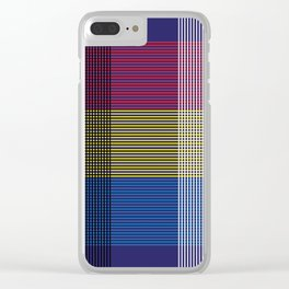 Crossing Color Clear iPhone Case