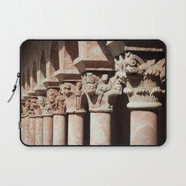 Carved Columns Laptop Sleeve
