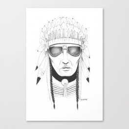 The Native Canvas Print