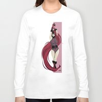 medusa Long Sleeve T-shirts featuring Medusa by Andrew Formosa