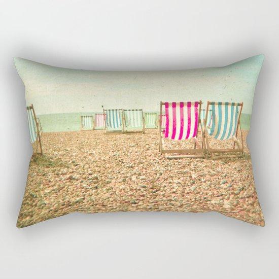 Deckchairs Rectangular Pillow