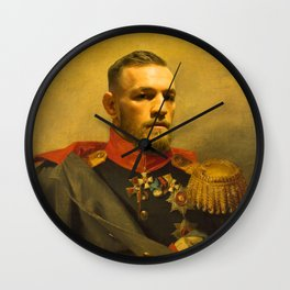 Conor McGregor Classical Painting Wall Clock