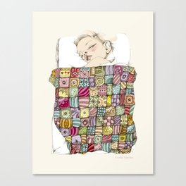 sleeping child Canvas Print