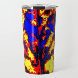 Fire Tree Pop Art Travel Mug