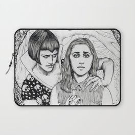 The Girl Who Had No Voice Laptop Sleeve