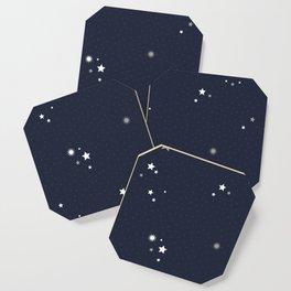 Starry Night Sky Coaster