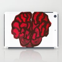 brain iPad Cases featuring Brain by Myles Hunt