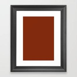 Smokey Topaz Framed Art Print