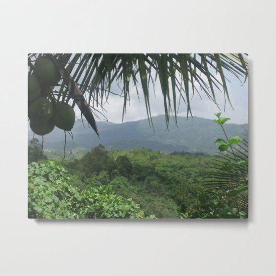 Puerto Rico Scenery Metal Print