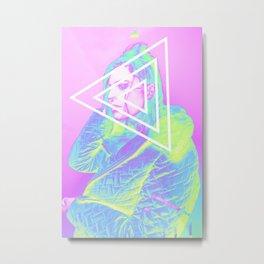 Holographically Depressed III Metal Print