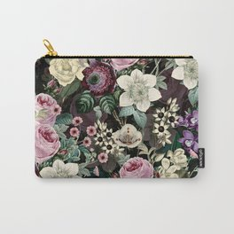 Vintage  & Shabby Chic - Mystical Night Flower Dance Carry-All Pouch