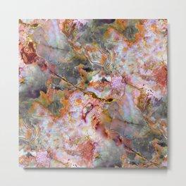 Rainbow Marble 1 Metal Print