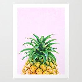 Pineapple Minimalist Art Print