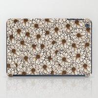 daisies iPad Cases featuring Daisies by Marta Li