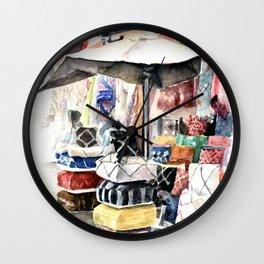 Marrakesh Souk Wall Clock