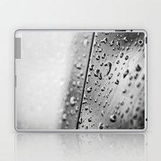 black and white drops Laptop & iPad Skin