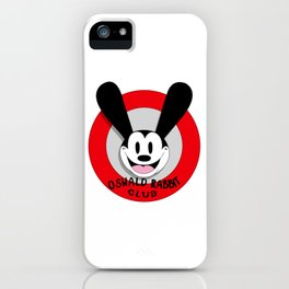 Oswald the Lucky Rabbit Club iPhone Case
