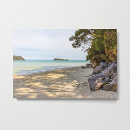 Abel Tasman Beach Metal Print