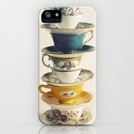 teacups iPhone Case