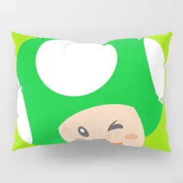 Green Toad Pillow Sham