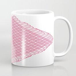 Linien einfach Linien   (A7 B0042) Coffee Mug