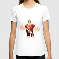 wreck it ralph T-shirts featuring I'm Gonna Wreck It Typography by Rebecca McGoran