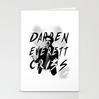 darren criss Stationery Cards featuring Darren Criss by kltj11