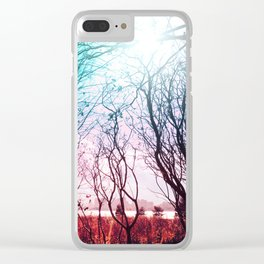 Beauitful Stems Clear iPhone Case
