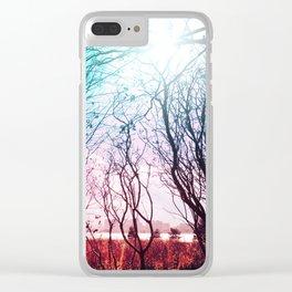 Beautiful Stems Clear iPhone Case