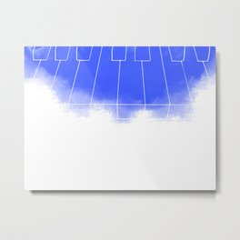 Piano Keys Metal Print