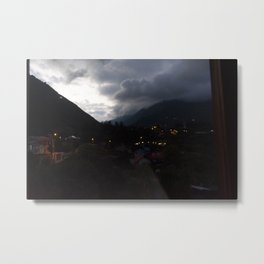 Baños at Night Metal Print