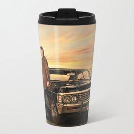 Dean and Impala Travel Mug