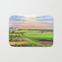 Kingsbarns Golf Course Scotland 9th Green Bath Mat