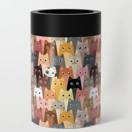 Cats Pattern Can Cooler