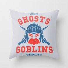 Team Ghosts & Goblins Throw Pillow