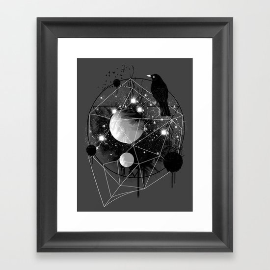 Cruel and Beautiful World Framed Art Print