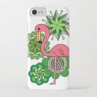 flamingo iPhone & iPod Cases featuring Flamingo by tamaradeborah