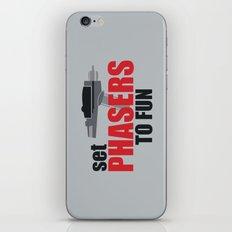 Set Phasers to Fun! iPhone & iPod Skin