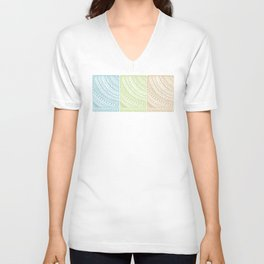 Weaved Elements I Unisex V-Neck
