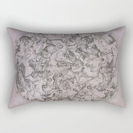 Vintage Constellations & Astrological Signs | Beetroot Paper Rectangular Pillow